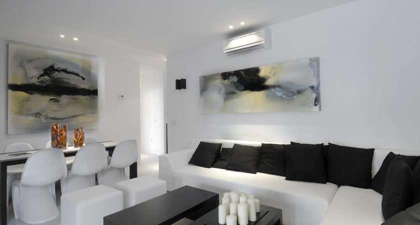 White Contemporary Interior Designs Homesthetics Inspiring Ideas