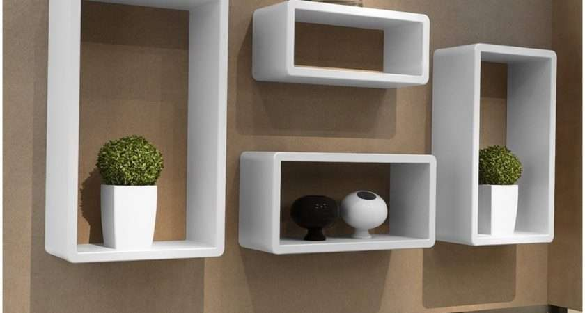 White Floating Shelf Ikea Affordable Shelves