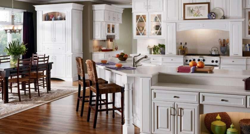 White Furniture Kitchen Cabinets Design Ideas