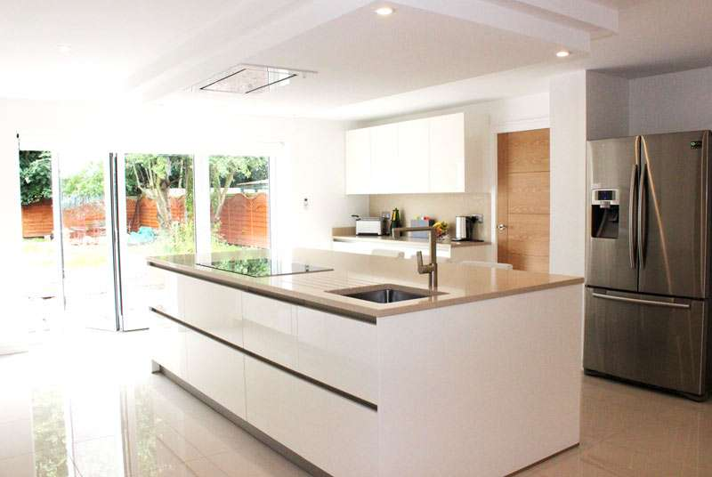 White Gloss Schuller German Kitchen Our Customer