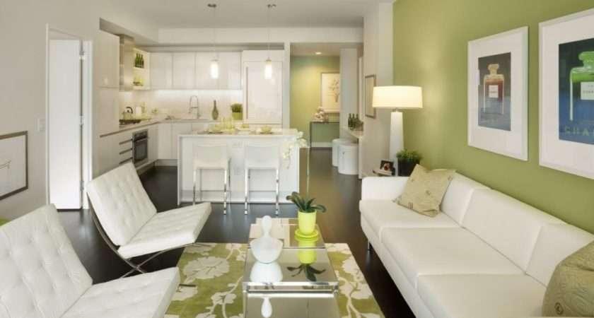 White Green Living Room Time Check Stunning