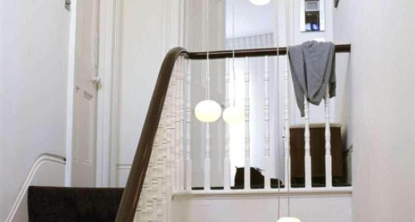 White Hallway Lights Decorating Ideas