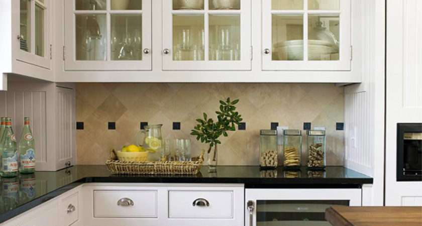 White Kitchen Cabinets Decorating Design Ideas Home