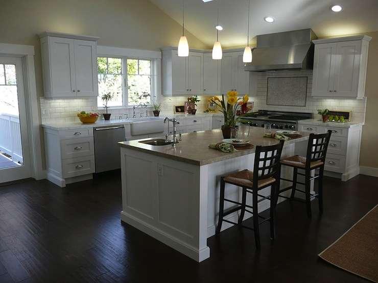 White Kitchen Cabinets Design Kitchendecorate