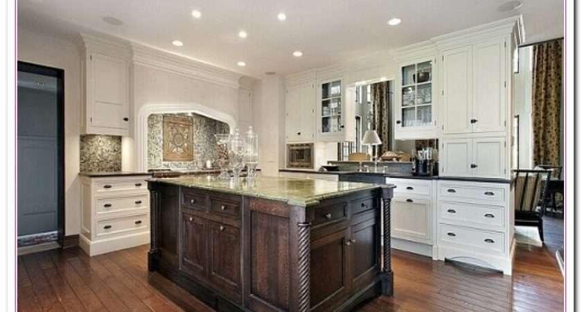 White Kitchen Design Ideas Within Two Tone Kitchens Home
