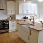 White Kitchens Wooden Worktops Deductour