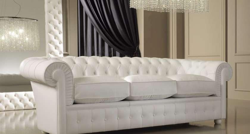 White Leather Sofa Decorating Ideas Amazing Best