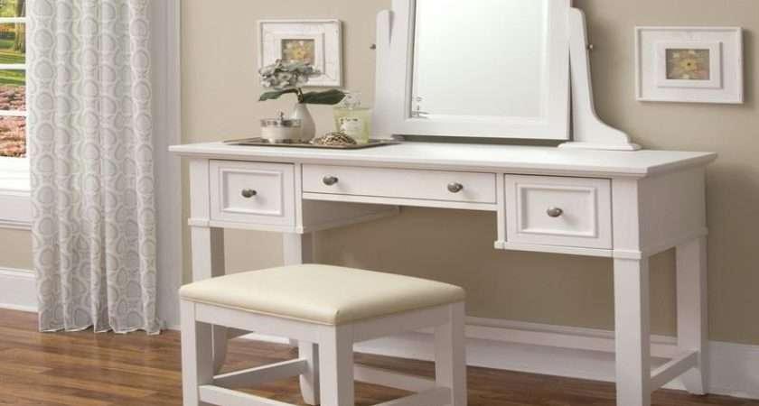 White Makeup Vanity Table Uploaded Admin After Choose