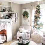 White Our Christmas Living Room Part