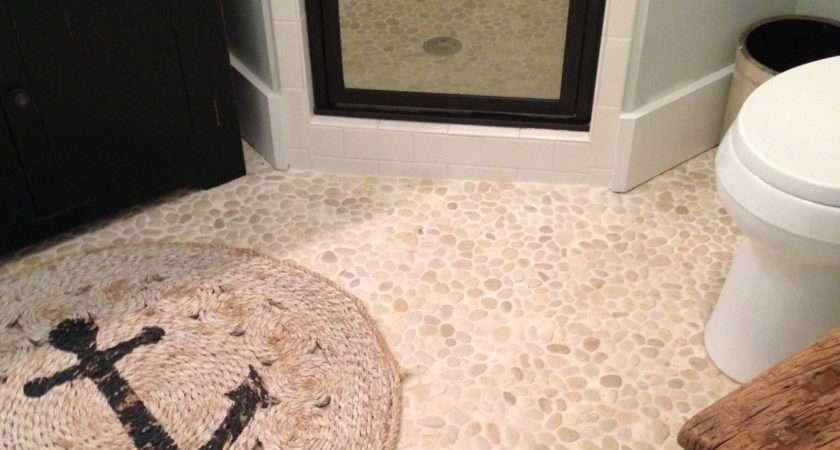 White Pebble Tile Shop