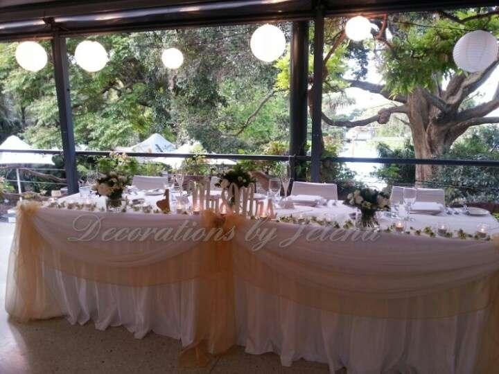 White Relaxed Botanical Garden Wedding Reception Paper Lantern