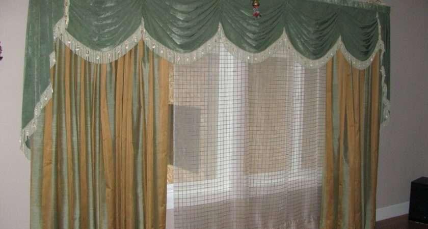 White Sash Large Glass Window Interior Charming Curtain Ideas