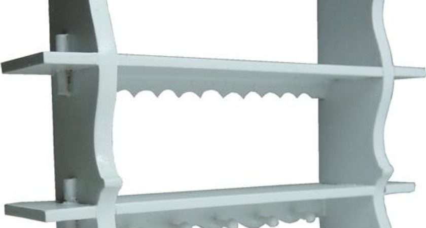White Shelf Pegs Dollhouse Junction