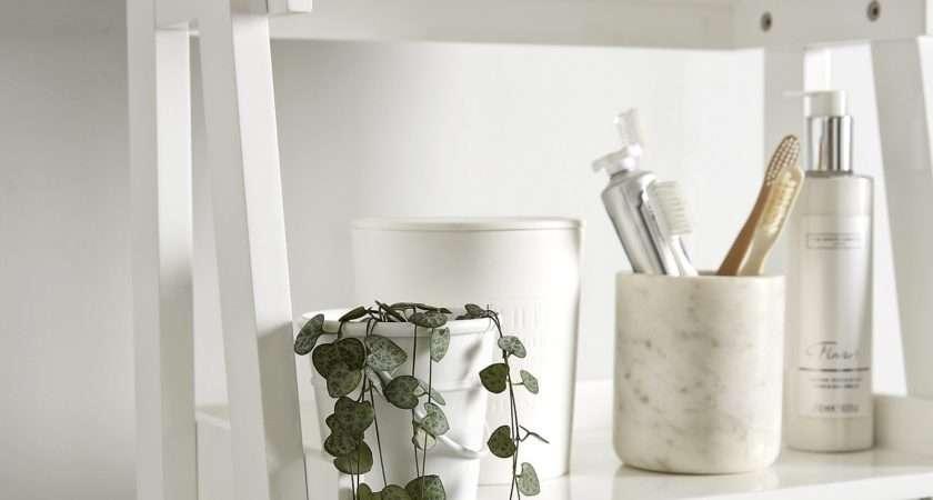 White Shelves Bathroom Towel Storage Knowledgebase