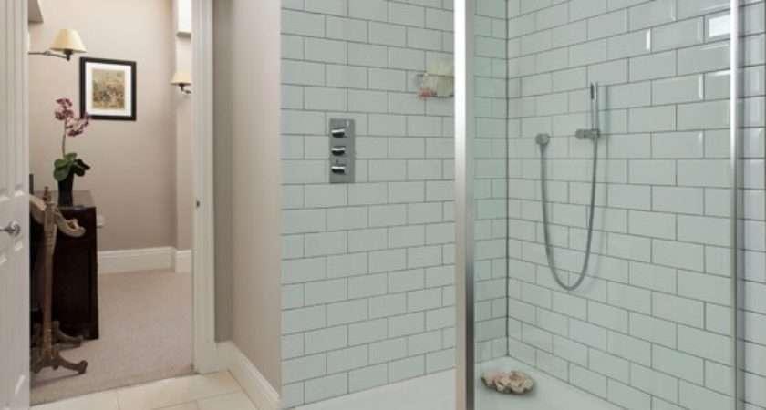 White Shower Room Housetohome