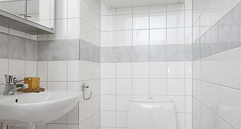 White Small Bathroom Design Iroonie