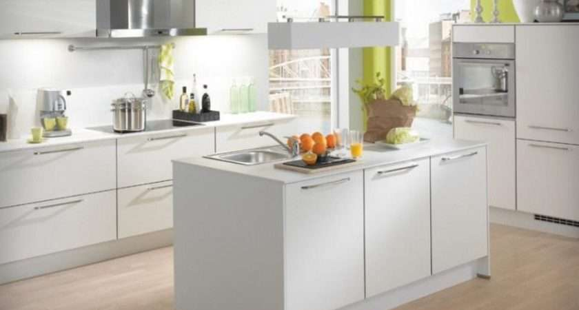 White Small Kitchen Design Ideas Home