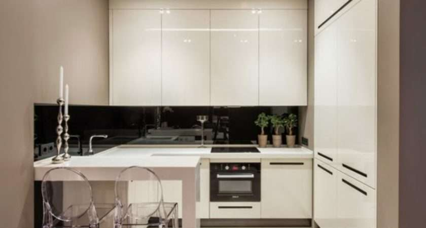 White Small Kitchen Designs Decorating Ideas