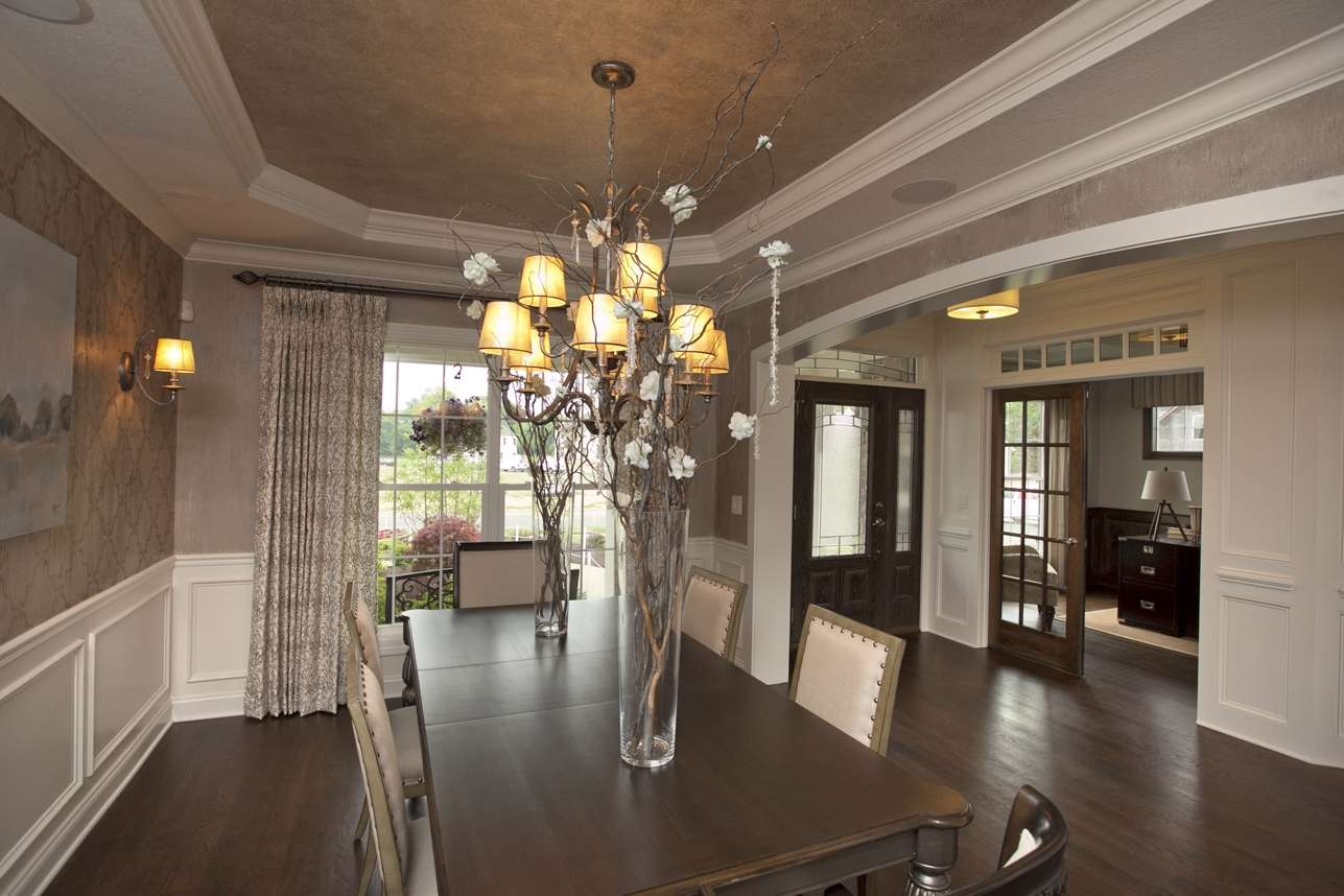 White Suspended Ceiling Dining Room Bar Innovative