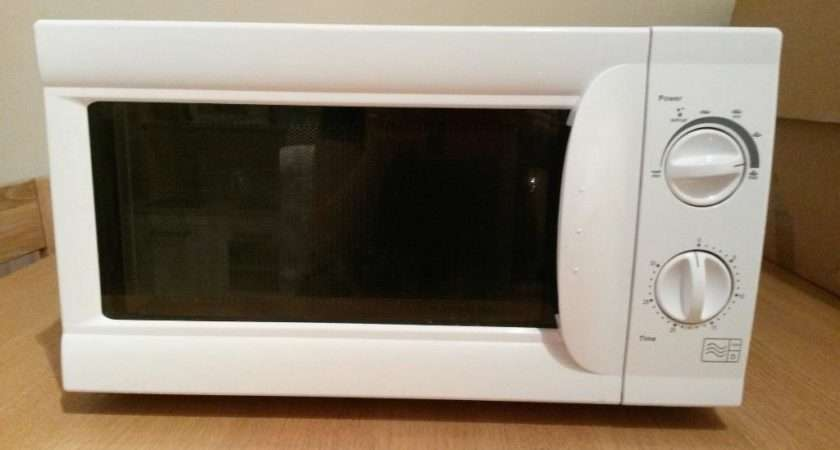 White Tesco Microwave Oven Sale Only