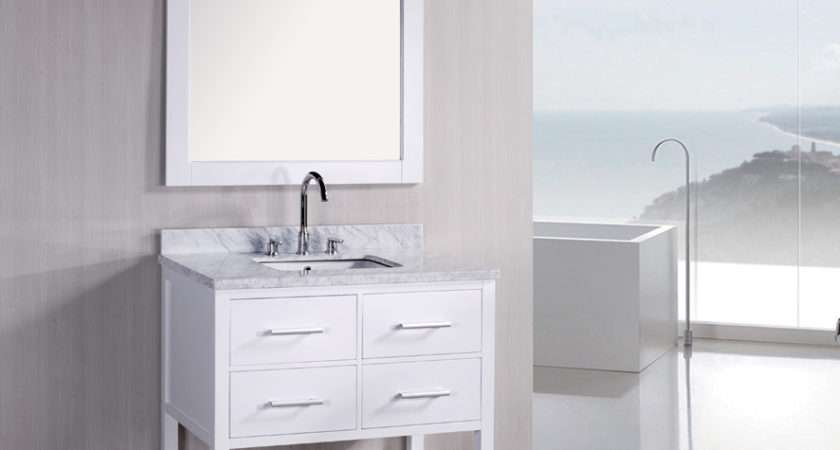 White Vanity Bathroom Ideas Grasscloth