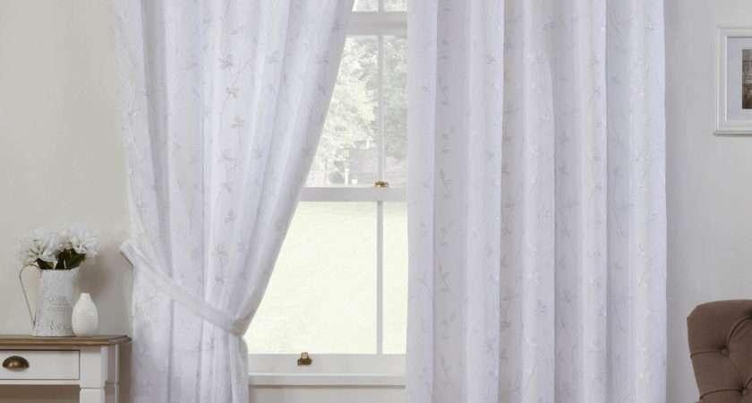 White Voile Curtains Next Curtain Menzilperde