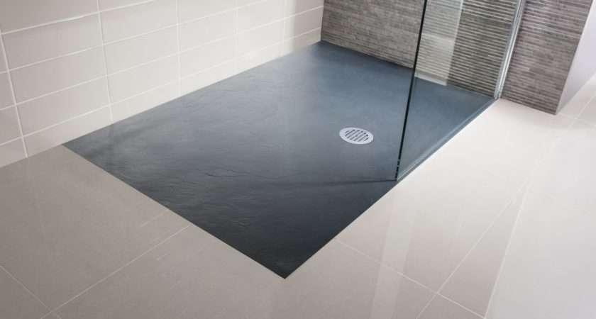 White Walk Shower Tray