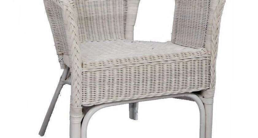 White Wicker Furniture Ebay