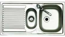 Wickes Bowl Reversible Kitchen Sink Tap
