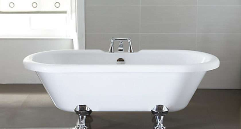 Wickes Decadent Acrylic Double Ended Roll Top Bath