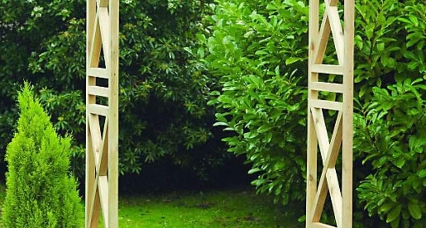 Wickes Garden Arch Light Green
