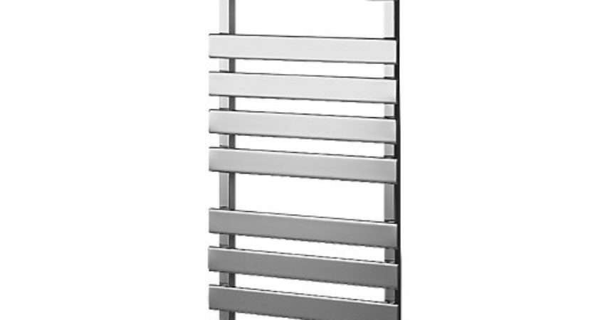 Wickes Haven Flat Panel Designer Towel Radiator Chrome