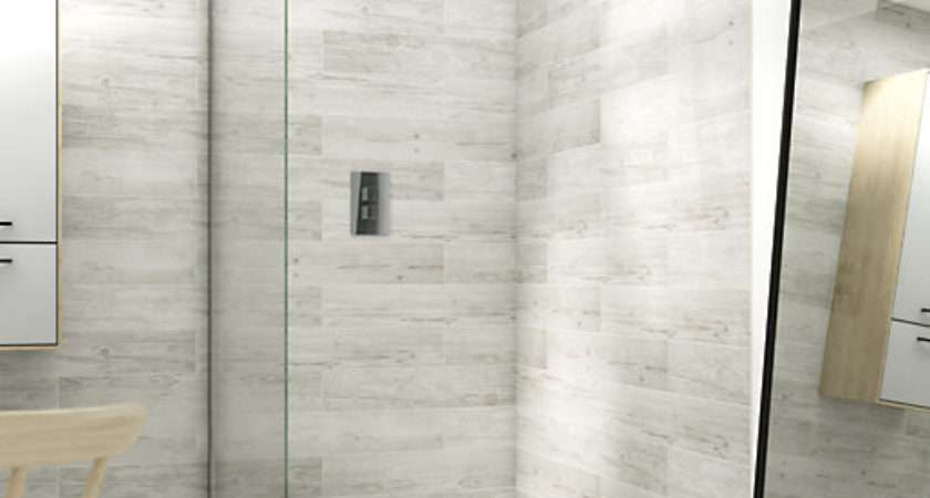 Wickes Single Fixed Frameless Shower Screen