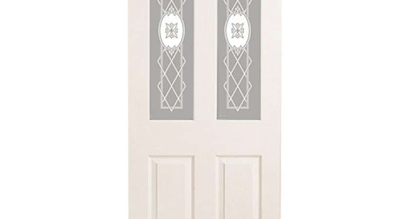 Wickes Stirling Internal White Glazed Grained Panel