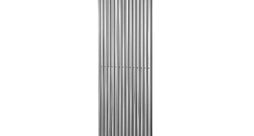 Wickes Stratus Vertical Radiator Round Chrome