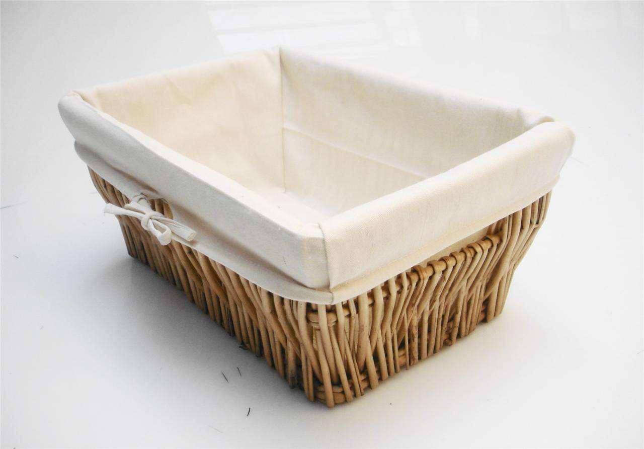 Wider Wicker Kitchen Toy Cupboard Storage Basket Empty Hamper