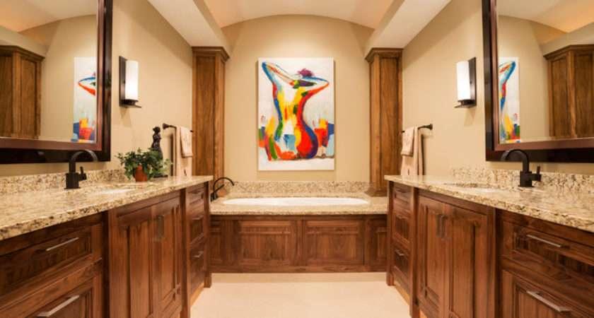 Wilkinson Lake North Oaks Contemporary Bathroom