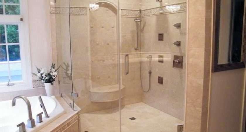 Wilkinson Master Bath Remodel Shower Fixtures