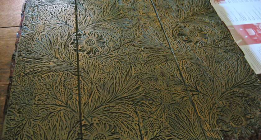 William Morris Print Block Red House Lisby