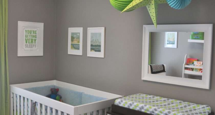 Willowandme Decorating Idea Grey Nursery