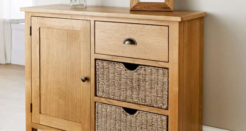 Wiltshire Oak Sideboard Living Room Furniture