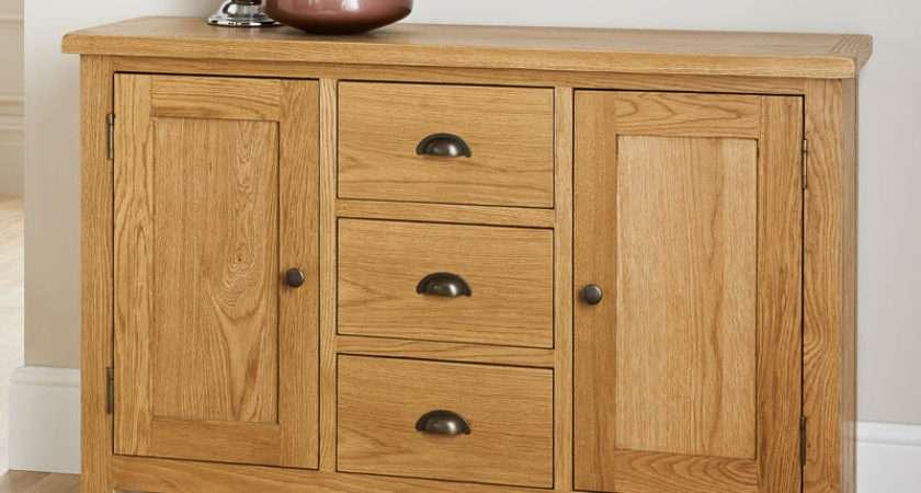 Wiltshire Wide Sideboard Furniture Oak
