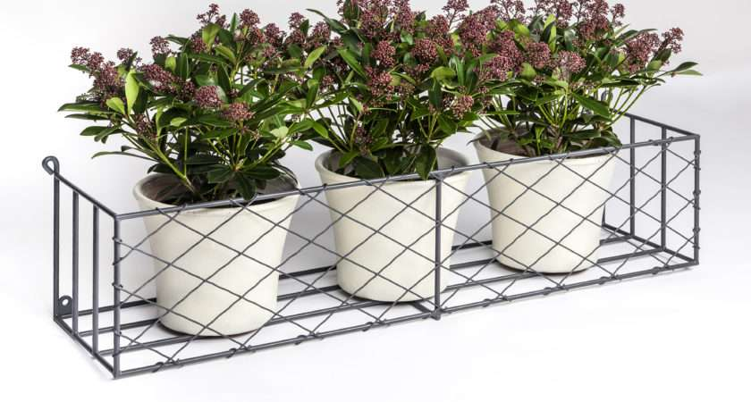 Window Boxes Metal Box Displays
