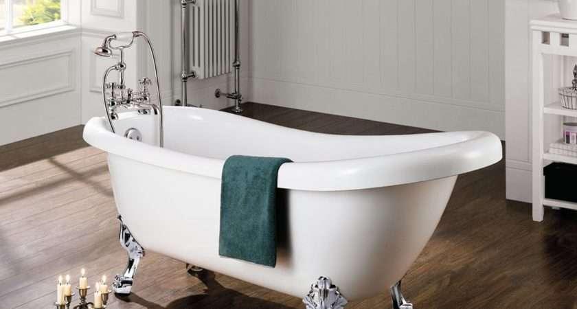 Windsor Designer Traditional Freestanding Roll Top Bath