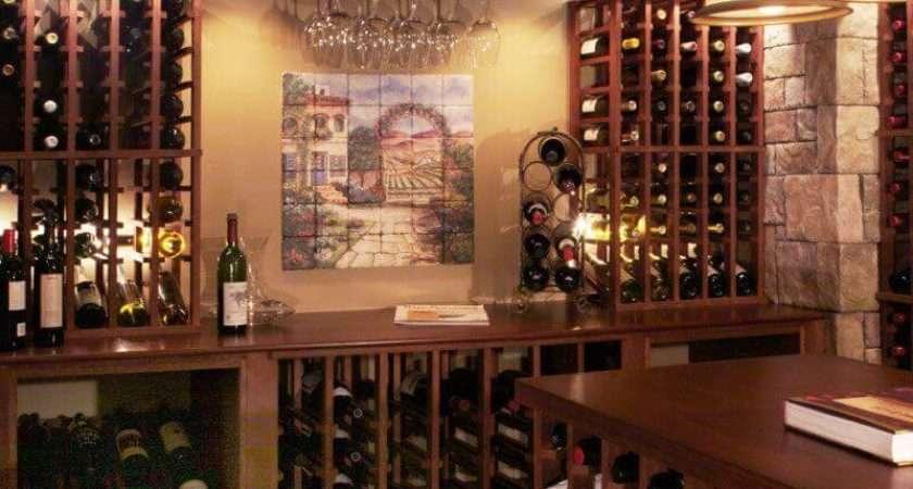 Wine Cellar Decor Decorating Ideas