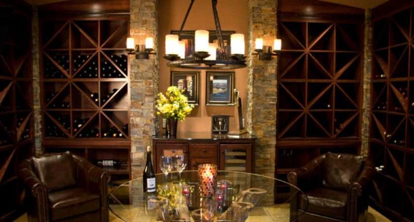 Wine Cellar Room Mediterranean Portland