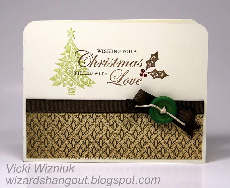 Wizard Hangout Simple Christmas Card