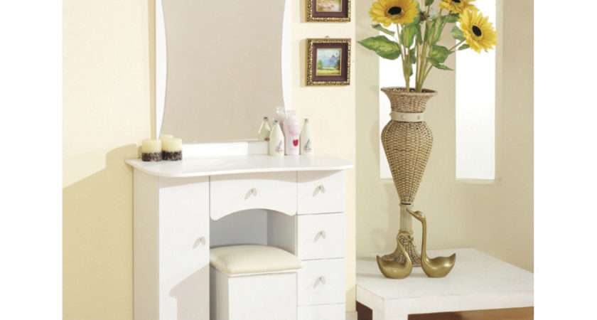 Wmall White Makeup Table