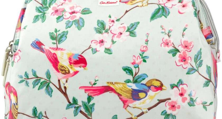 Women Bags Cath Kidston British Birds Frame Wash Bag