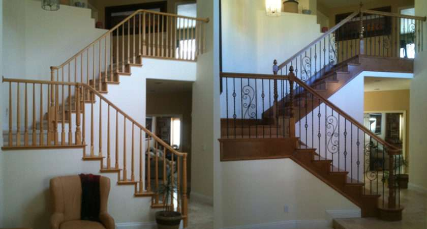 Wood Balusters Wrought Iron Stair Parts Blog